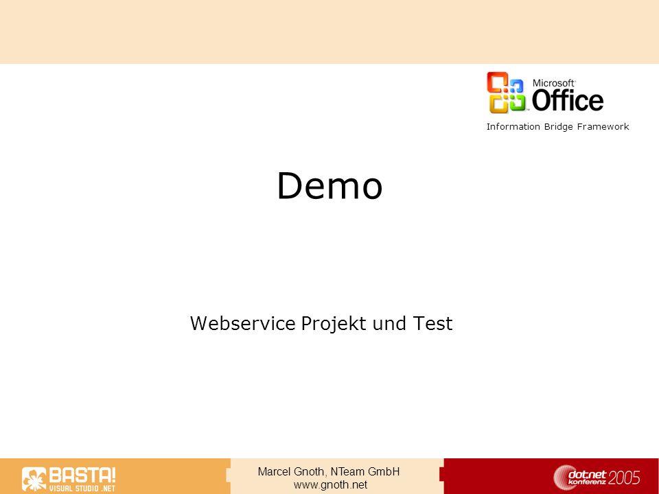 Webservice Projekt und Test