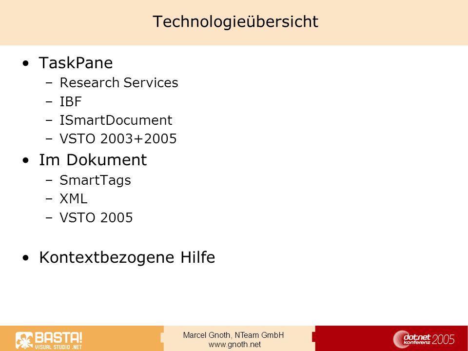 Technologieübersicht
