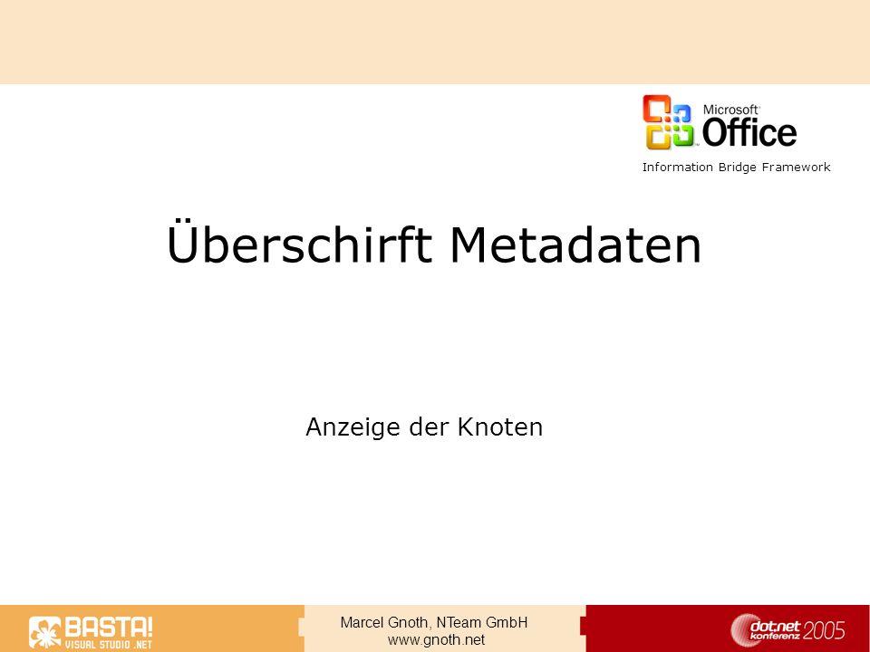 Überschirft Metadaten
