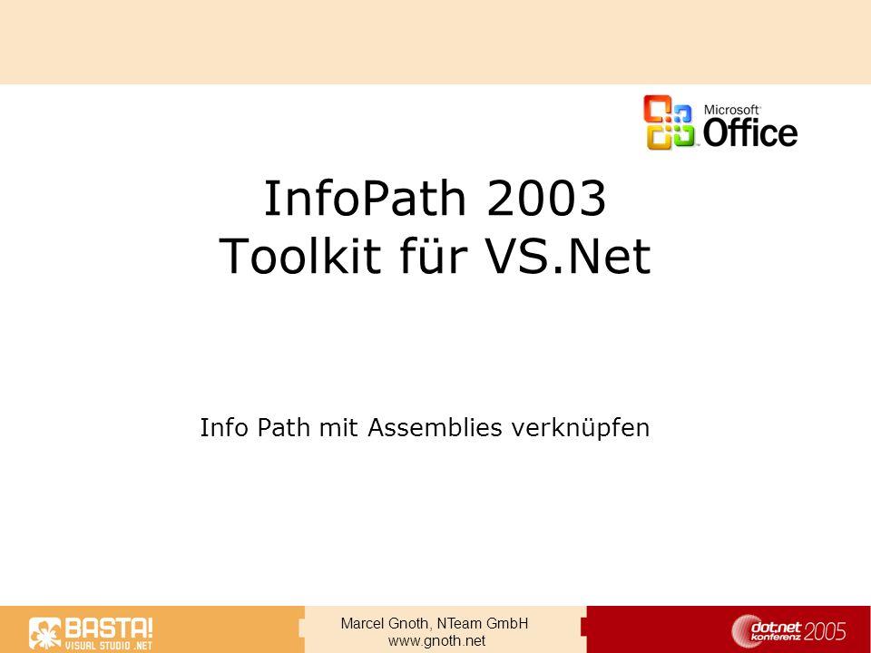 InfoPath 2003 Toolkit für VS.Net