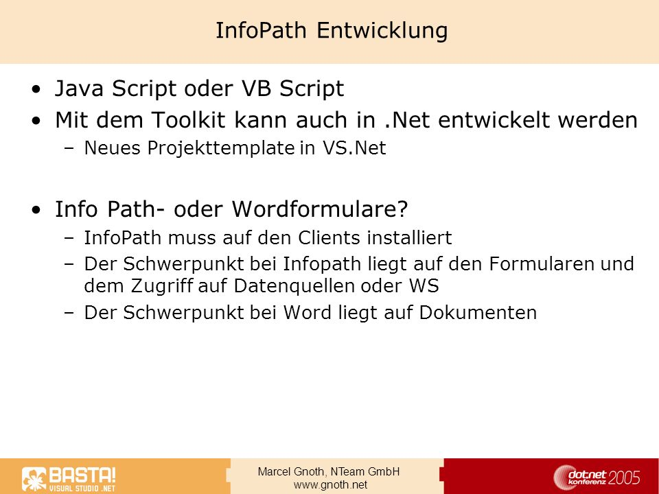 Java Script oder VB Script