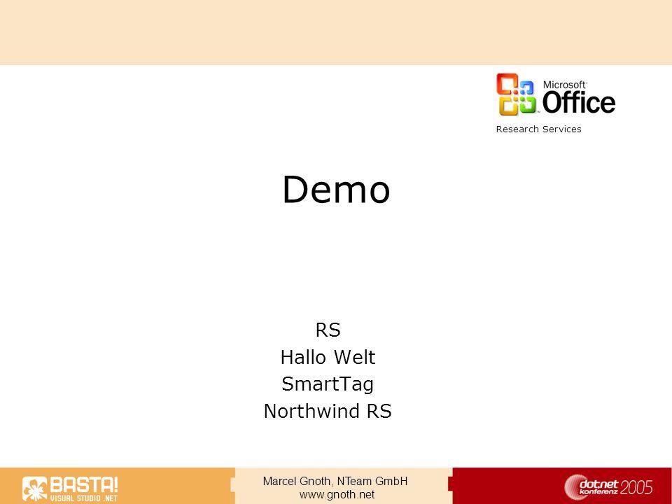 RS Hallo Welt SmartTag Northwind RS