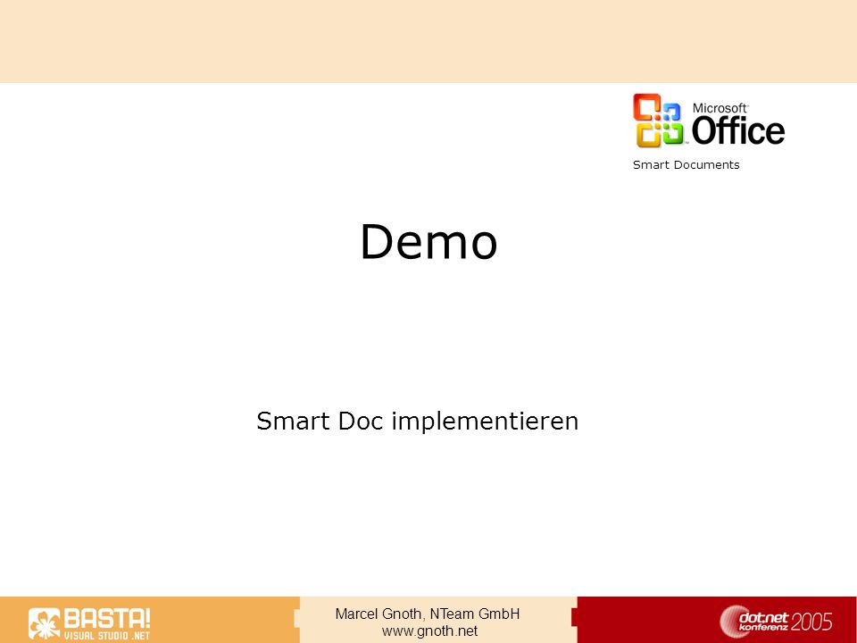 Smart Doc implementieren