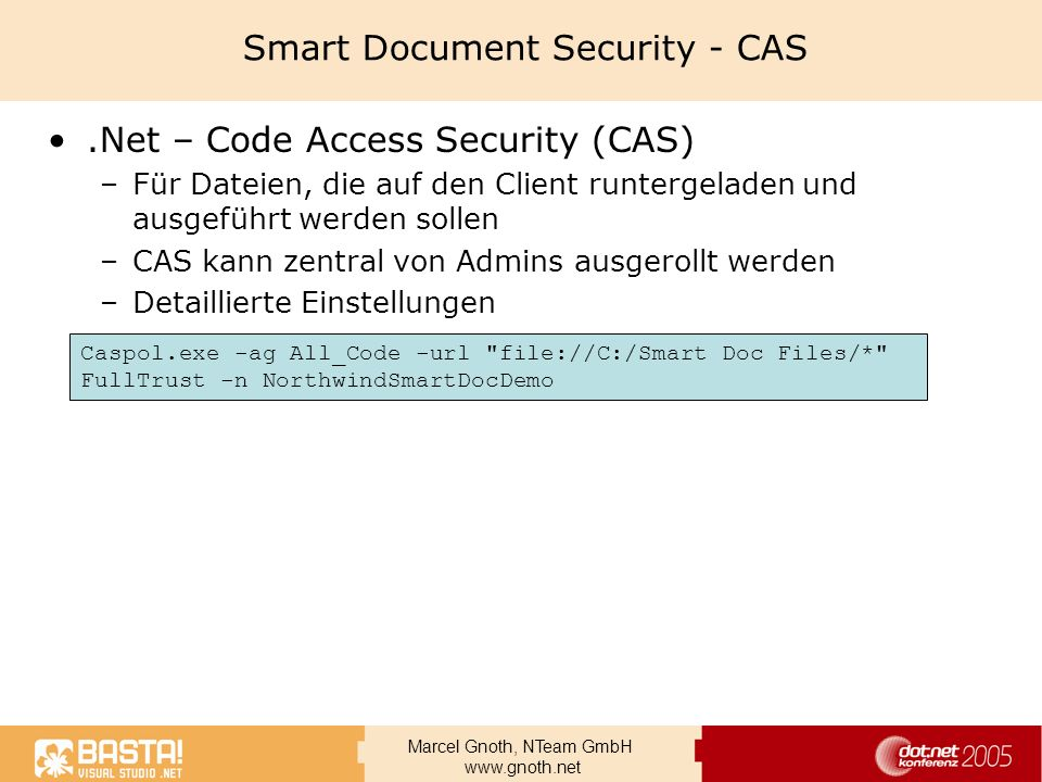 Smart Document Security - CAS