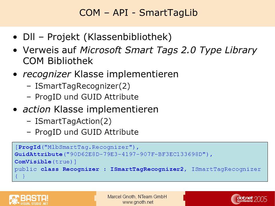 Dll – Projekt (Klassenbibliothek)