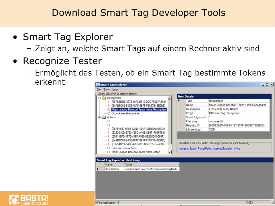 Download Smart Tag Developer Tools