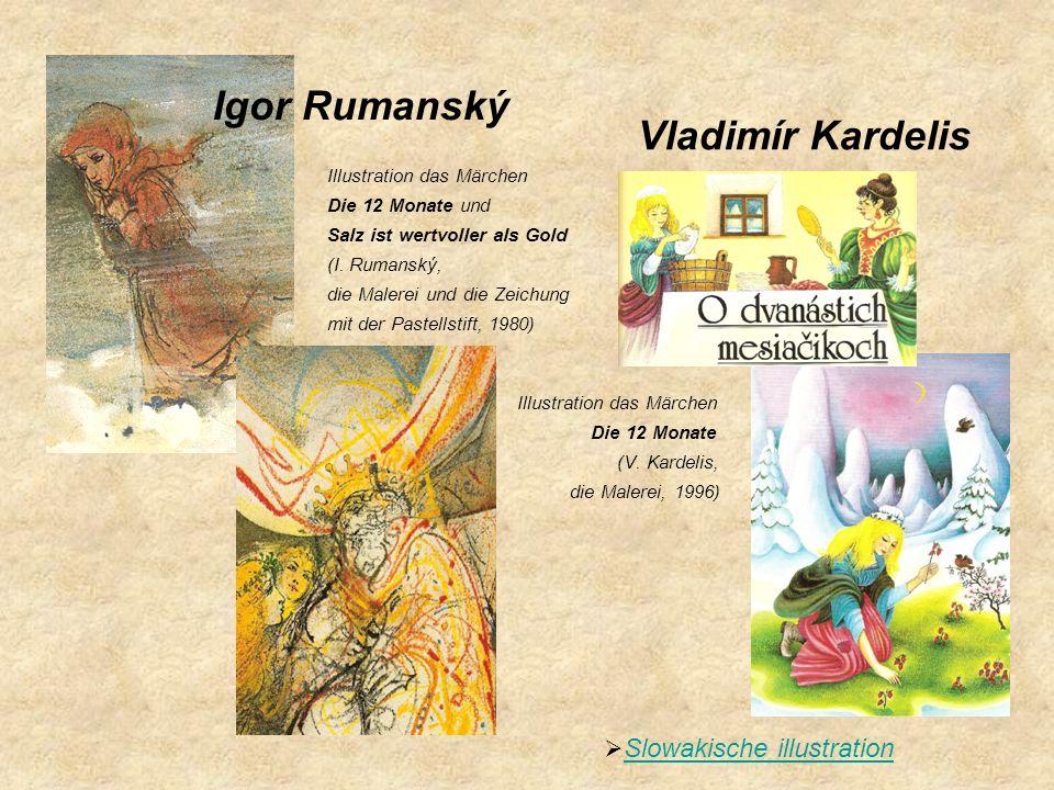 Igor Rumanský Vladimír Kardelis Slowakische illustration
