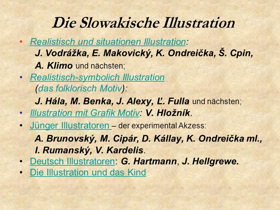 Die Slowakische Illustration