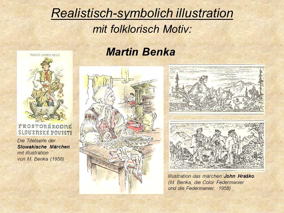 Realistisch-symbolich illustration mit folklorisch Motiv: