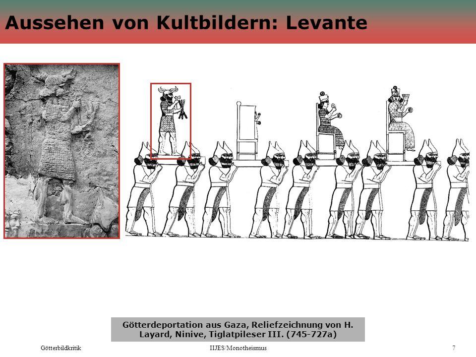 Aussehen von Kultbildern: Levante