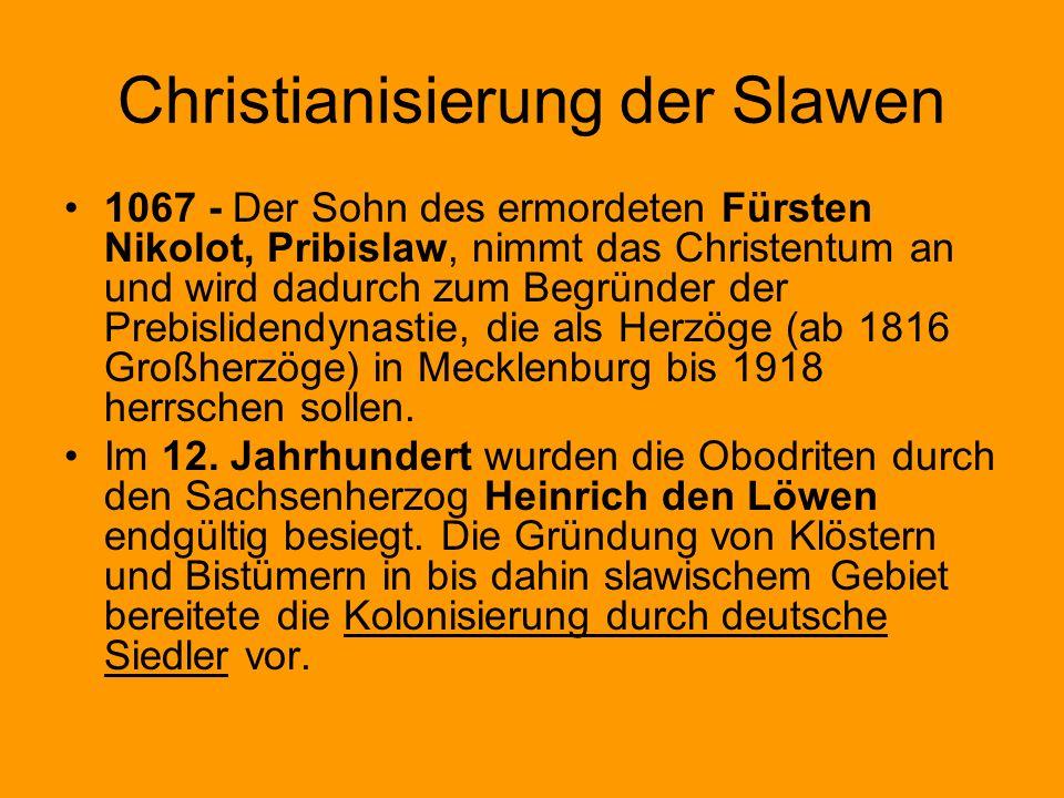 Christianisierung der Slawen