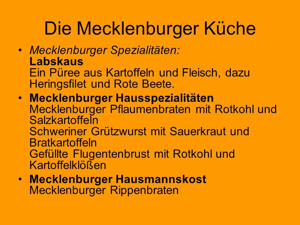 Die Mecklenburger Küche