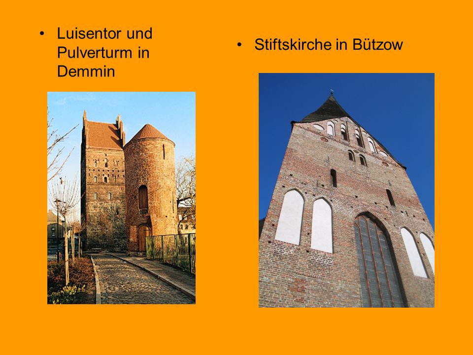 Luisentor und Pulverturm in Demmin