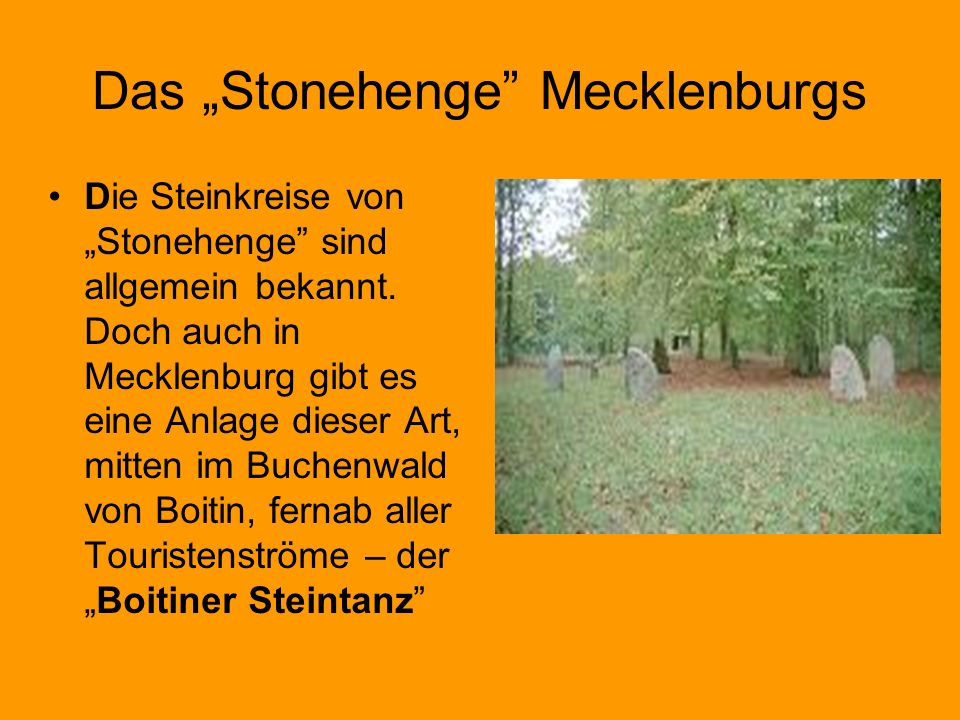 "Das ""Stonehenge Mecklenburgs"