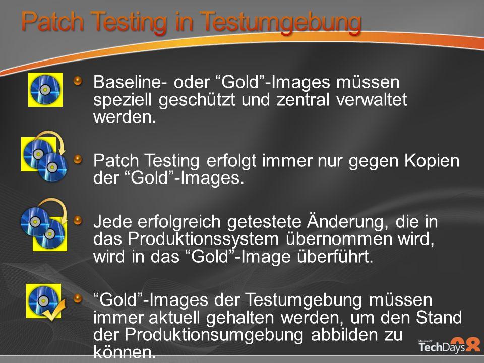 Patch Testing in Testumgebung