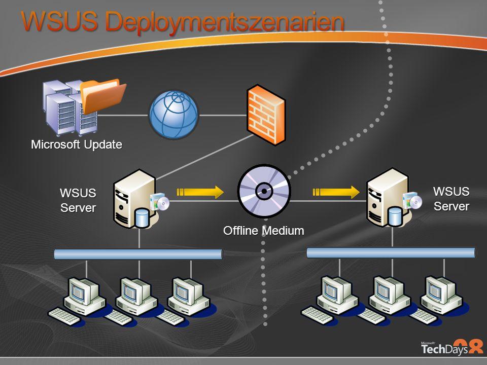 WSUS Deploymentszenarien