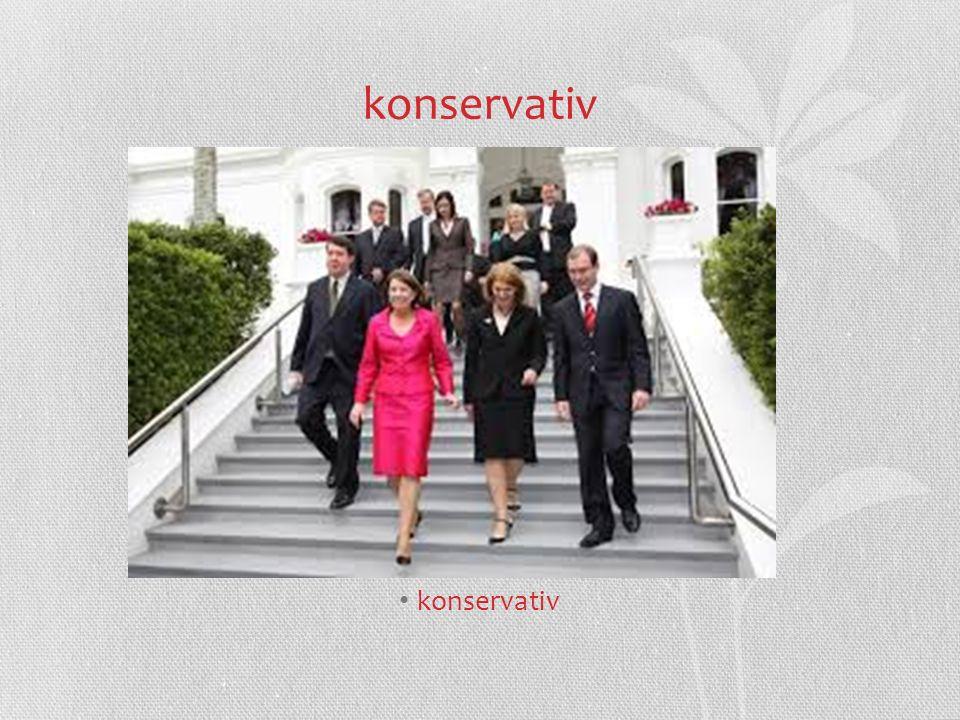 konservativ konservativ