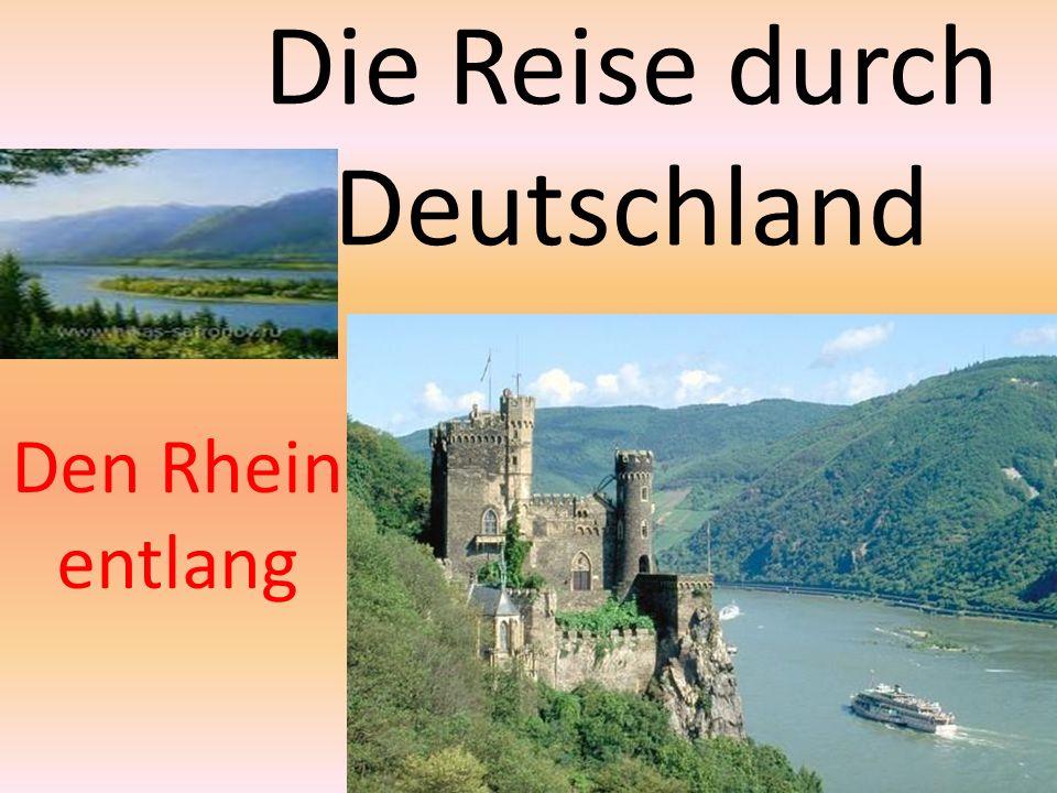 Die Reise durch Deutschland