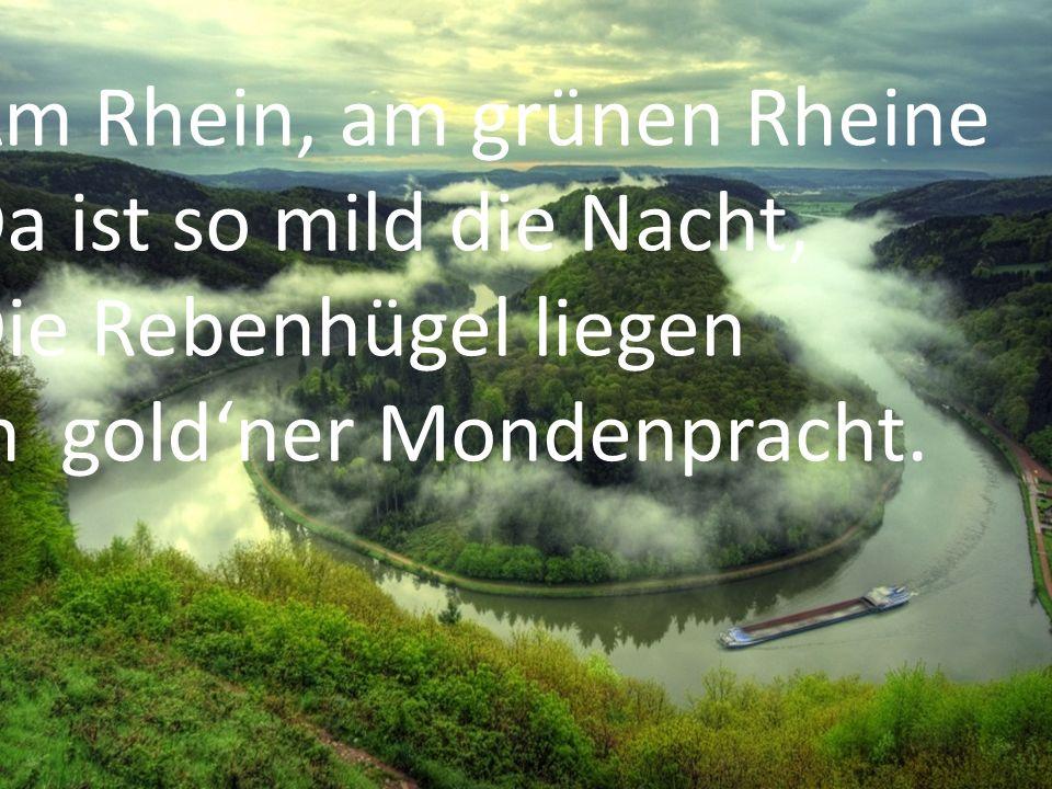 Am Rhein, am grünen Rheine