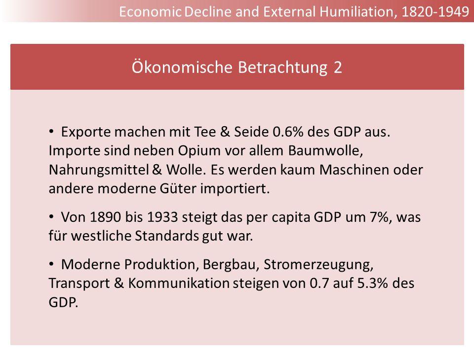 Ökonomische Betrachtung 2