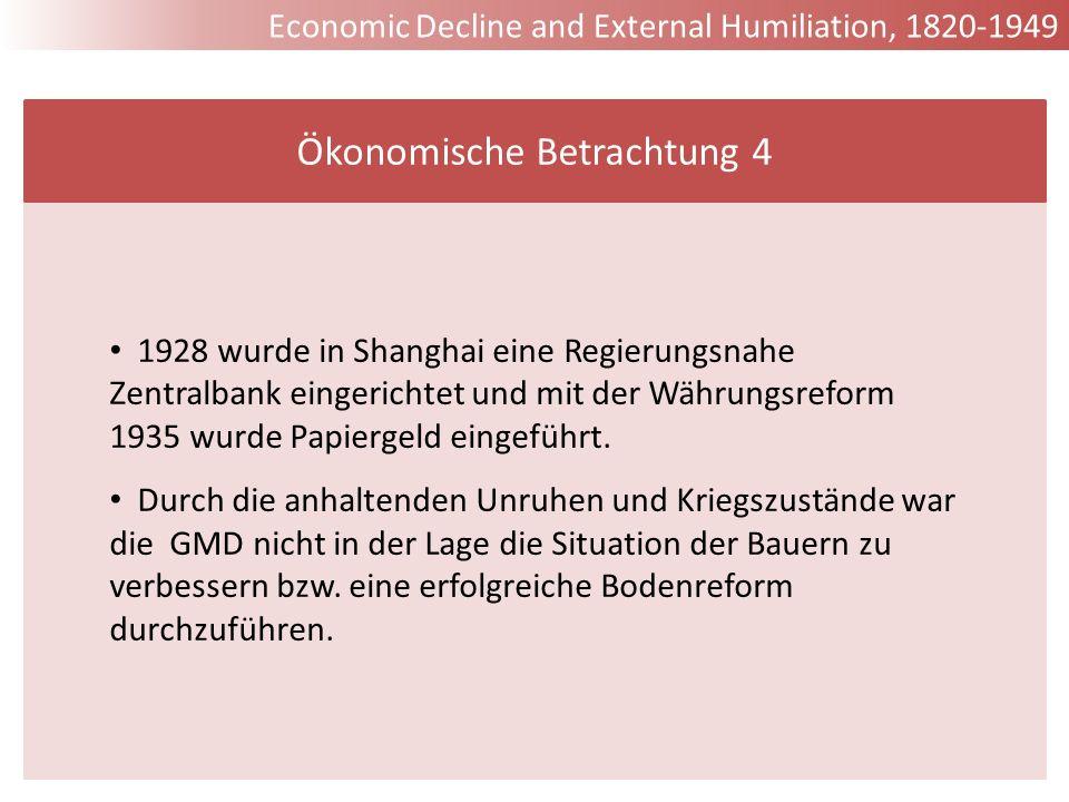 Ökonomische Betrachtung 4