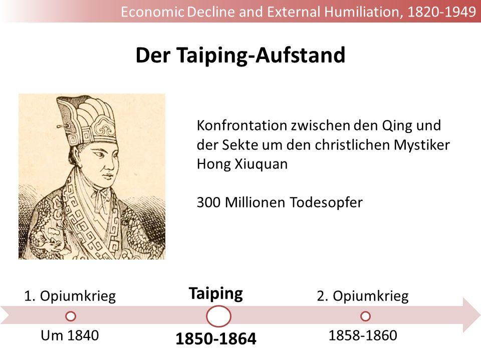 Der Taiping-Aufstand Taiping 1850-1864