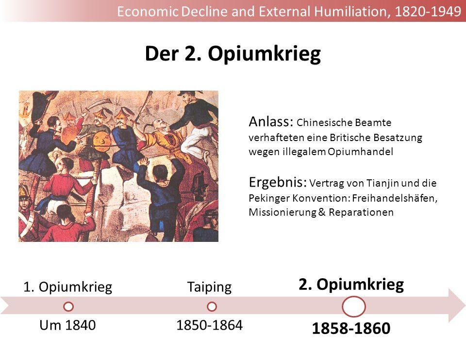Der 2. Opiumkrieg 2. Opiumkrieg 1858-1860