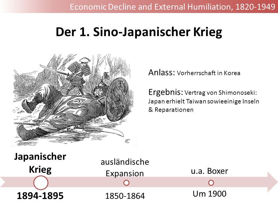 Der 1. Sino-Japanischer Krieg