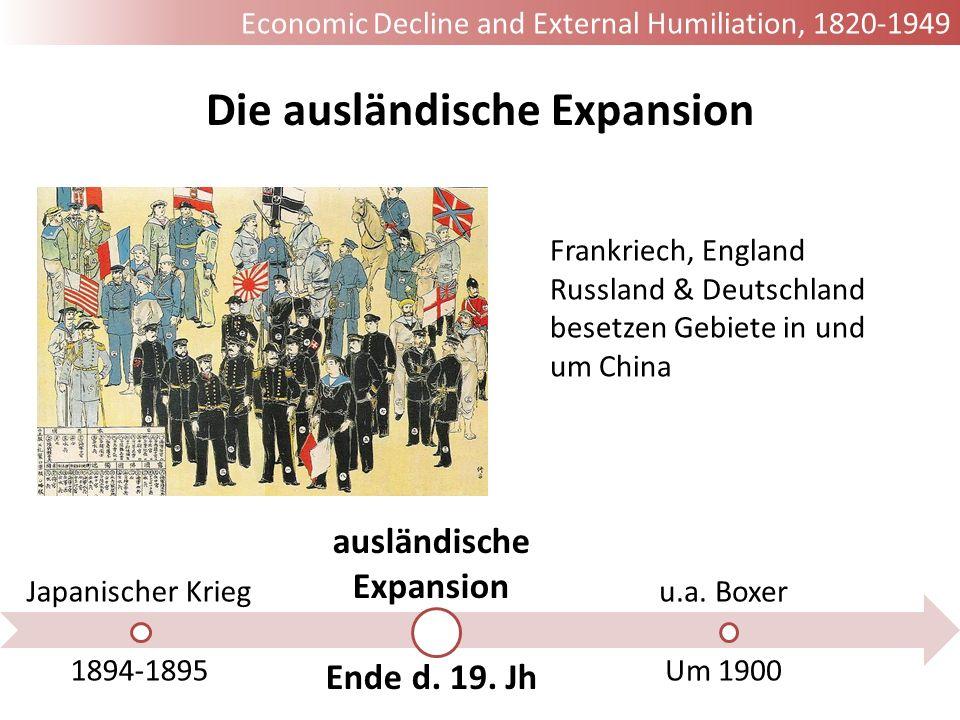 Die ausländische Expansion