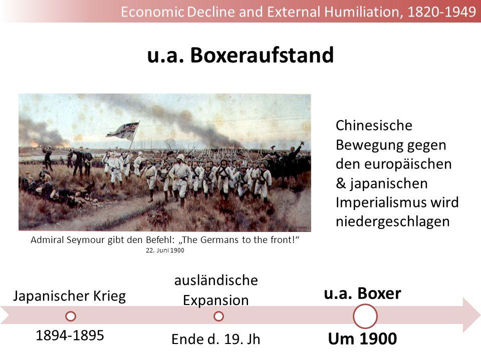 u.a. Boxeraufstand u.a. Boxer Um 1900