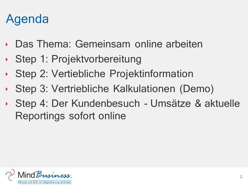 Agenda Das Thema: Gemeinsam online arbeiten