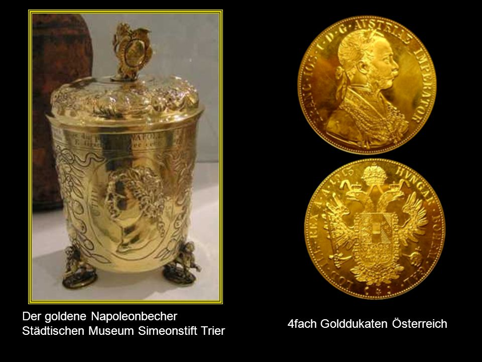 Der goldene Napoleonbecher Städtischen Museum Simeonstift Trier