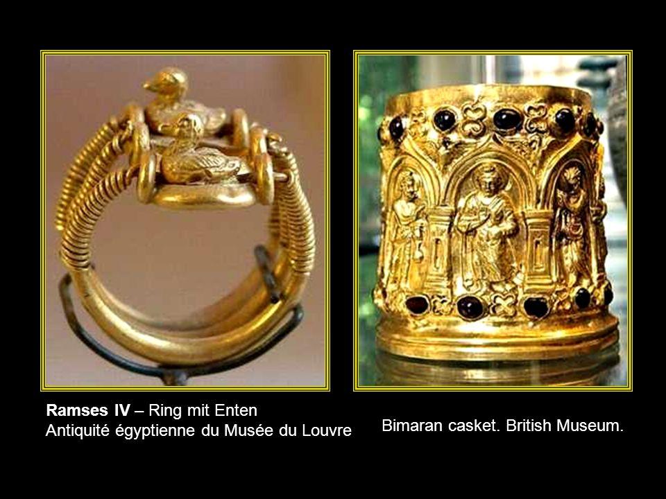 Ramses IV – Ring mit Enten