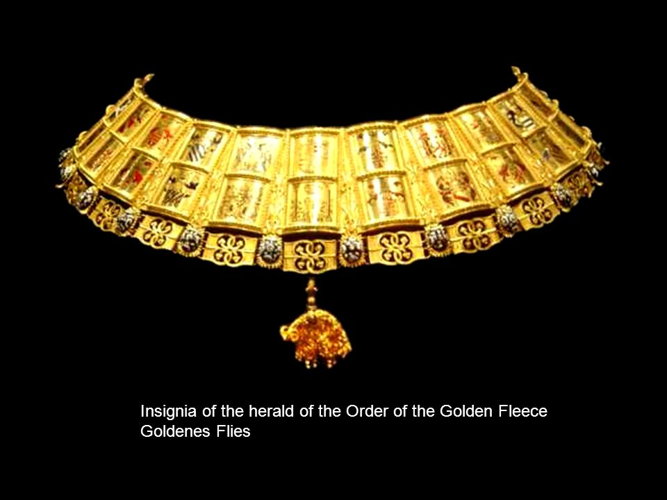 Insignia of the herald of the Order of the Golden Fleece