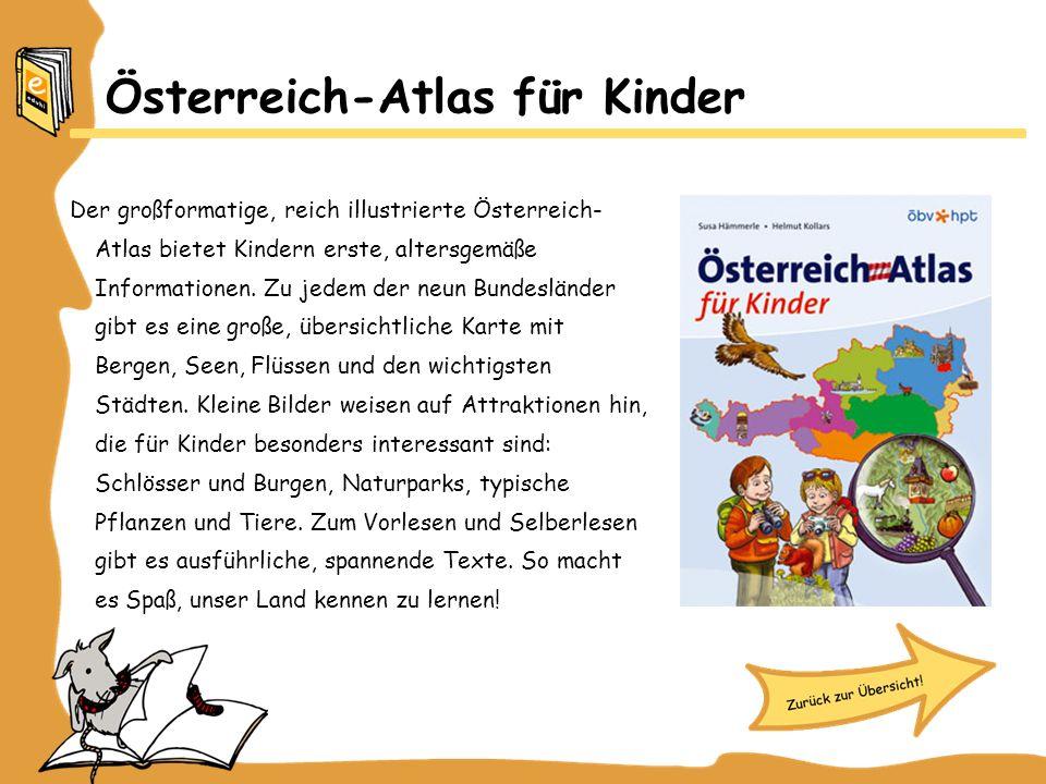 Österreich-Atlas für Kinder
