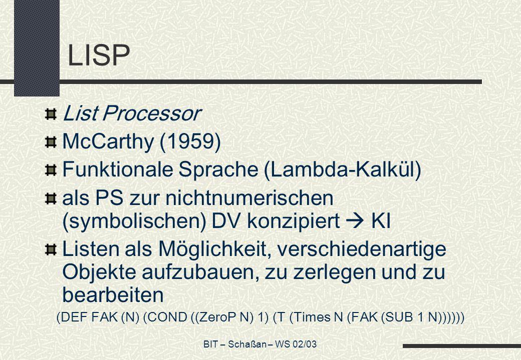 (DEF FAK (N) (COND ((ZeroP N) 1) (T (Times N (FAK (SUB 1 N))))))
