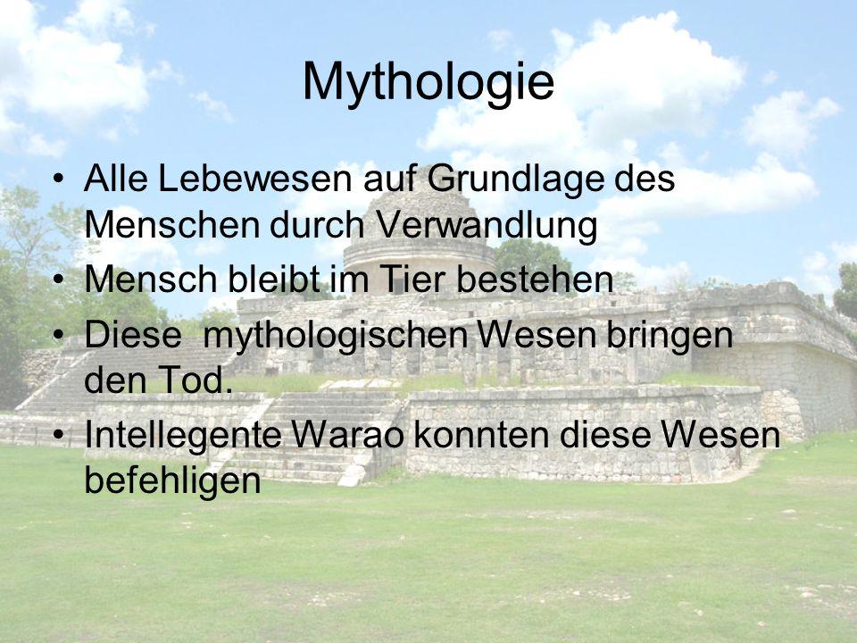 Mythologie Alle Lebewesen auf Grundlage des Menschen durch Verwandlung