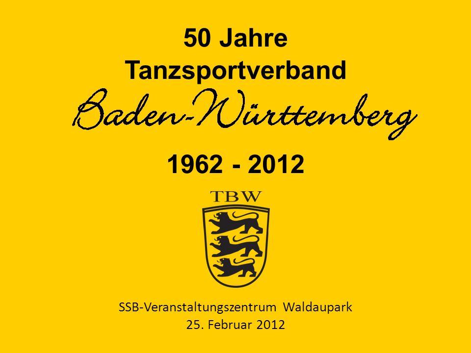 50 Jahre Tanzsportverband 1962 - 2012