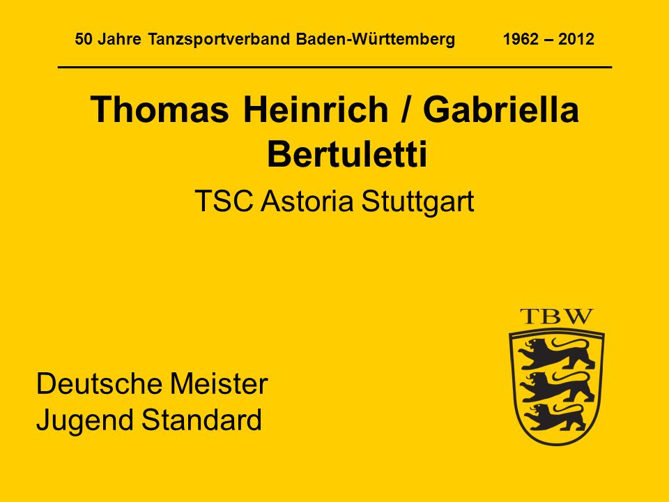 Thomas Heinrich / Gabriella Bertuletti