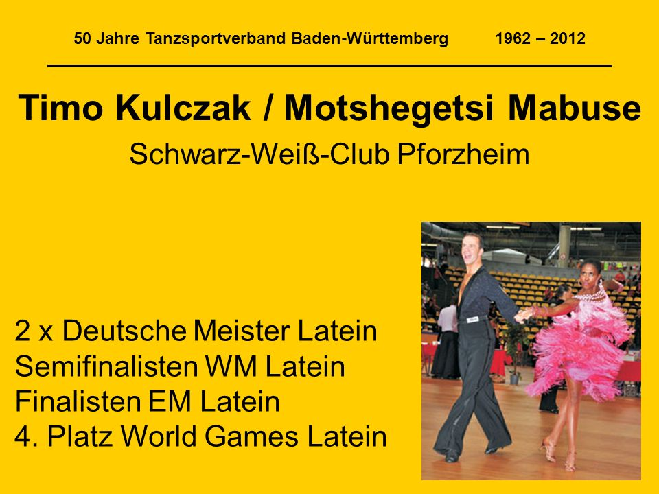 Timo Kulczak / Motshegetsi Mabuse
