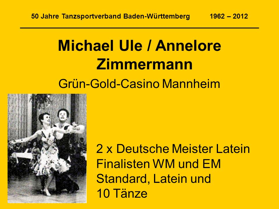 Michael Ule / Annelore Zimmermann