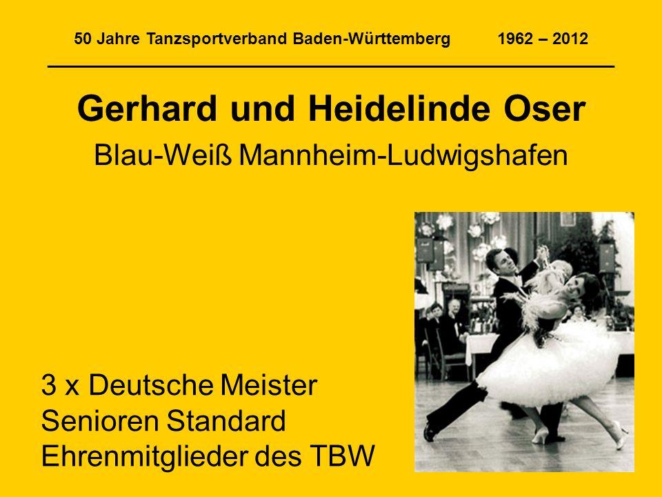 Gerhard und Heidelinde Oser