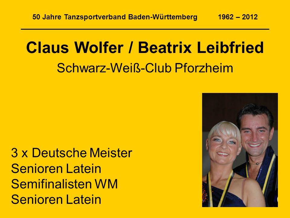 Claus Wolfer / Beatrix Leibfried