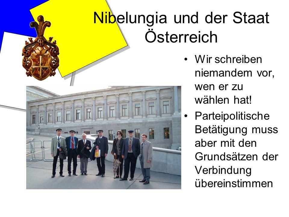 Nibelungia und der Staat Österreich