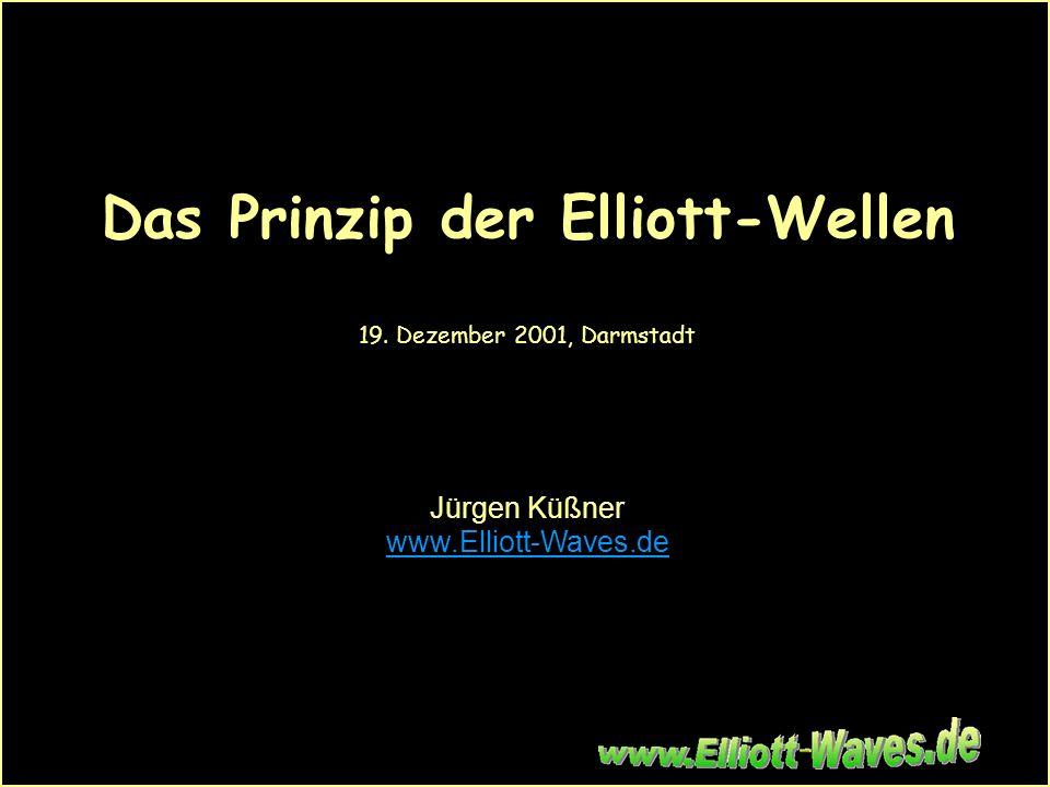 Das Prinzip der Elliott-Wellen