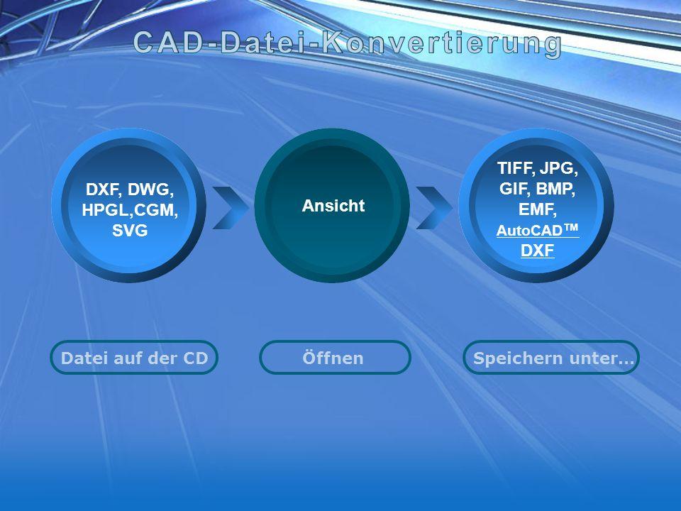 CAD-Datei-Konvertierung