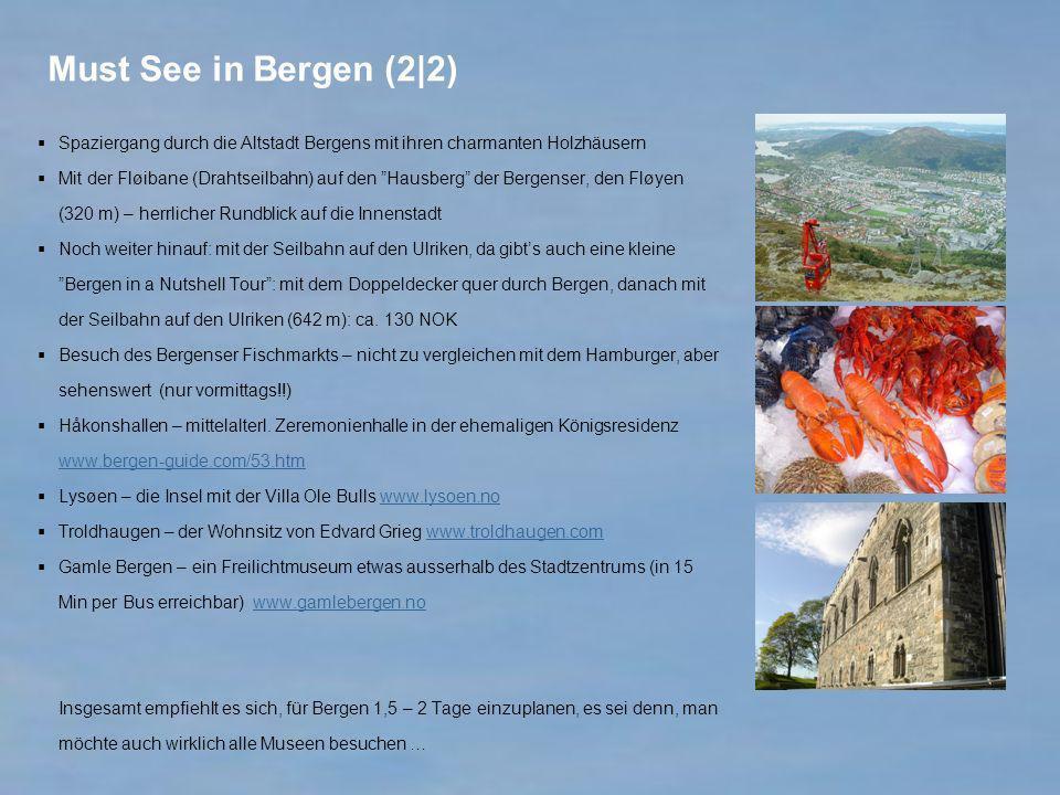Must See in Bergen (2|2) Spaziergang durch die Altstadt Bergens mit ihren charmanten Holzhäusern.