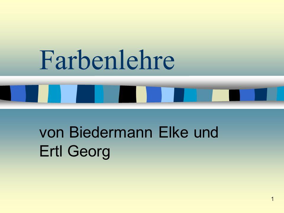 von Biedermann Elke und Ertl Georg