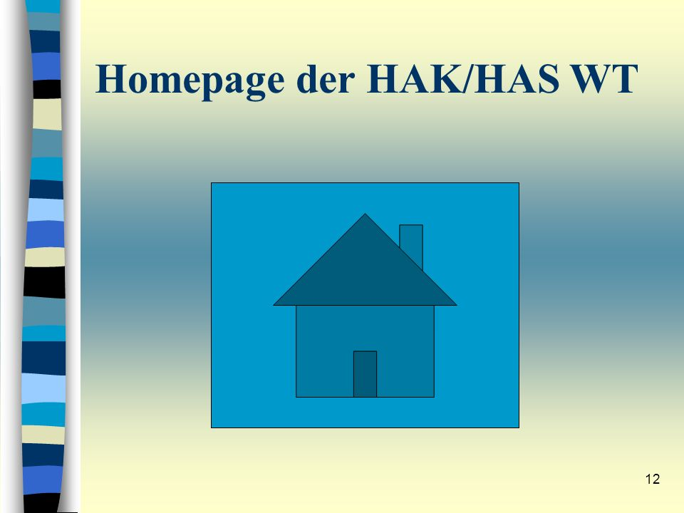 Homepage der HAK/HAS WT