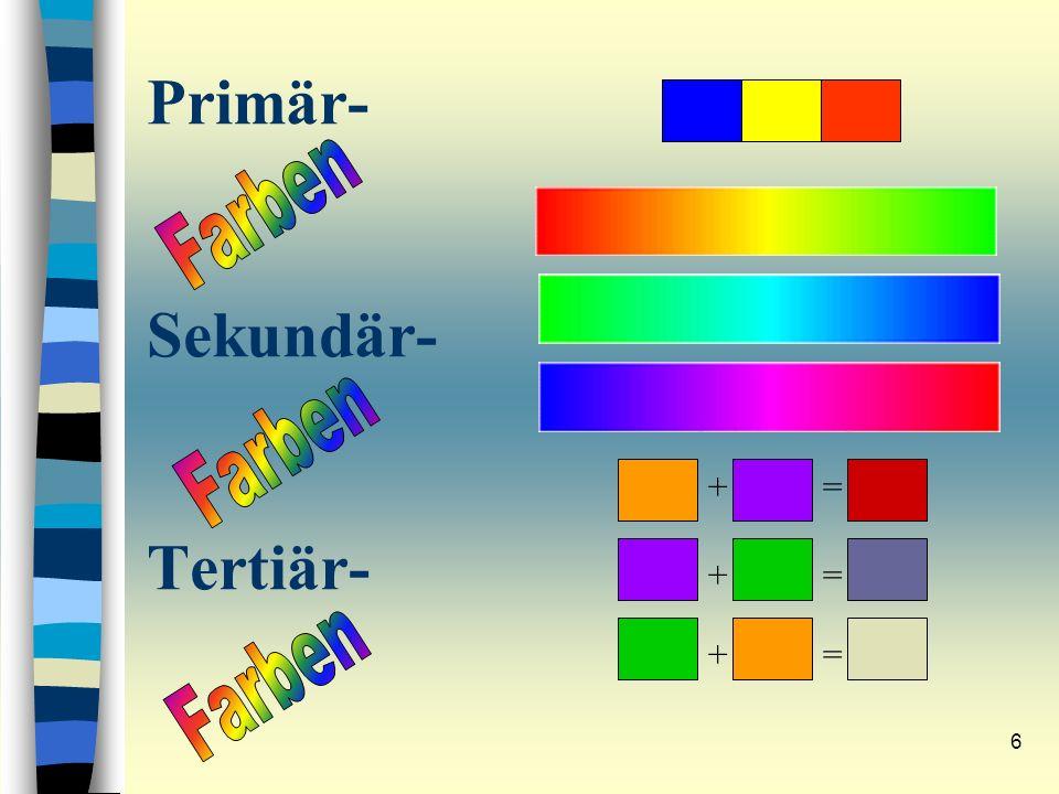 Primär- Sekundär- Tertiär-